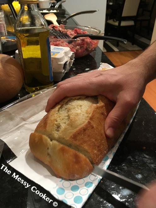 shallot-burger-cut-bread