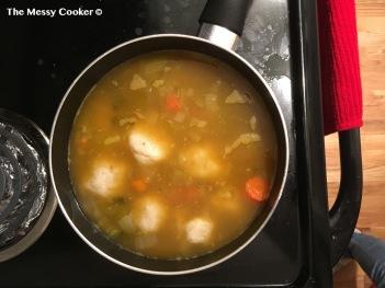 matzah soup 9